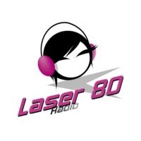 Logo of radio station laser 80