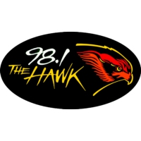 Logo de la radio WHWK 98.1 The Hawk