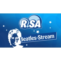 Logo of radio station R.SA Das Beatles Radio