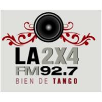 Logo of radio station La 2x4