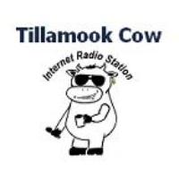 Logo of radio station Tillamook Cow