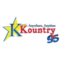 Logo of radio station K Kountry 95