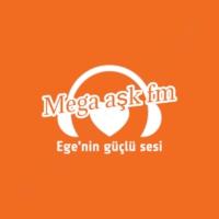 Logo of radio station MEGA AŞK FM