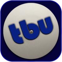 Logo of radio station theBlueUnderground