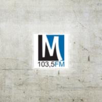 Logo of radio station M 103.5 FM
