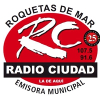 Logo of radio station Radio Ciudad 107.5