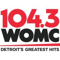 Logo of radio station 104.3 WOMC
