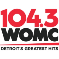 Logo of radio station 104.3 WOMC