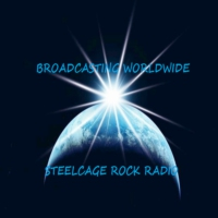 Logo of radio station SteelCage Rock Radio