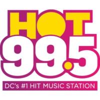 Logo de la radio WIHT HOT 99.5 FM