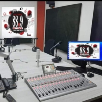 Logo of radio station 88.9 la cima fm  pereira  eje cafetero