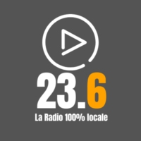 Logo of radio station 23.6, La Radio 100% Locale