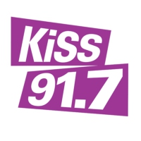 Logo of radio station CHBN-FM KiSS 91.7