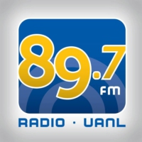 Logo of radio station XHUNL Radio UANL 89.7 fm