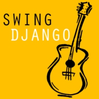 Logo of radio station Swing Django