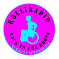 Logo de la radio # ROLLIRADIO # BACK TO THE ROOTS GERMAN
