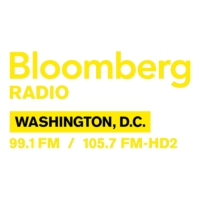 Logo of radio station WDCH-FM Bloomberg 99.1