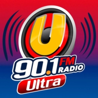 Logo of radio station Ultra 90.1FM