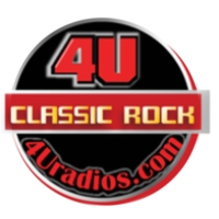 Logo of radio station 4U Classic Rock