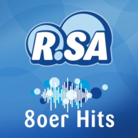 Logo of radio station R.SA 80er Hits