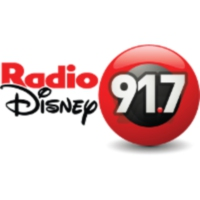 Logo of radio station XHCIA Radio Disney 91.7 FM