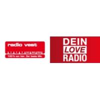 Logo of radio station Radio Vest – Dein Love Radio