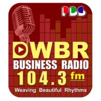Logo de la radio DWBR 104.3fm