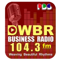Logo of radio station DWBR 104.3fm