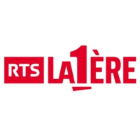 Logo of radio station RTS La 1ère
