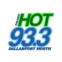 Logo de la radio KLIF-FM The New HOT 93.3