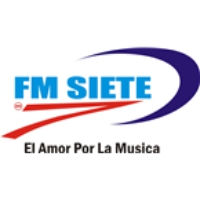 Logo of radio station FM Siete Rock