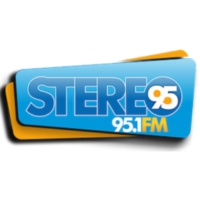 Logo of radio station XHNH Stereo 95