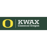 Logo of radio station KWAX 91.1