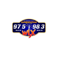 Logo of radio station WLX Radio