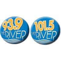 Logo de la radio WRSI 93.9 & 101.5 The River