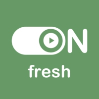 """Logo de la radio """"ON Fresh"""""""