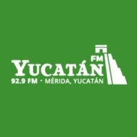 Logo of radio station XHYUC Yucatán 92.9 FM