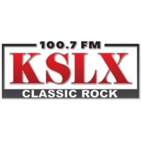 Logo of radio station 100.7 KSLX