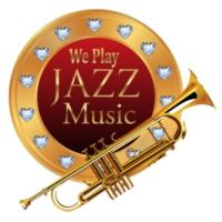 Logo of radio station We Play Jazz Music