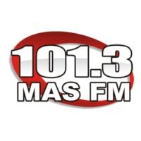 Logo of radio station Mas 101.3 FM