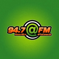 Logo de la radio XHTJ @FM 94.7 FM