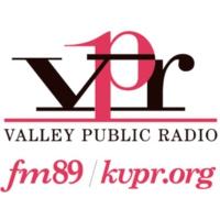Logo of radio station KVPR FM89