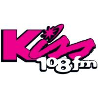 Logo de la radio WXKS-FM Kiss 108
