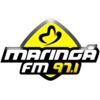 Logo of radio station Maringa 97.1 FM