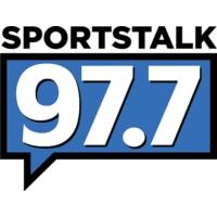 Logo of radio station KNBB Sports Talk 97.7