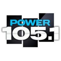 Logo de la radio WWPR Power 105.1 FM