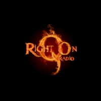 Logo of radio station Right On QUE Radio