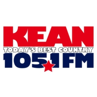 Logo of radio station KEAN 105.1 FM