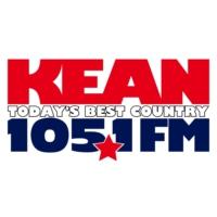 Logo of radio station KEAN 105.1 FM