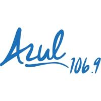 Logo of radio station XHAC Azul 106.9